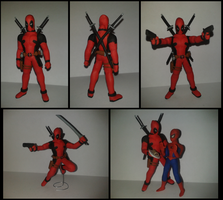 Deadpool plastilina by fsalkatras