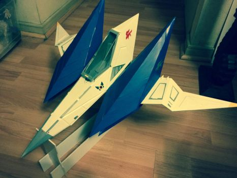 Starfox Arwing by vrlovecats