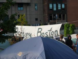 Occupy Boston by KaraSkirata