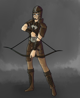 Wood Elf Ray by xEnderQueenx