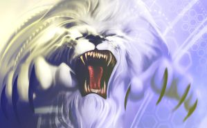 Tundra Lion by Vedic