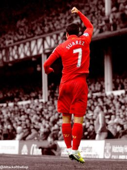 Luis Suarez by AttackoftheKop