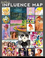 fritchie's Influence Map 2011 by fritchie