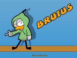 Brutus Hoodie by chelano