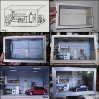 Diorama Garage 1:43 by FanouLouloute
