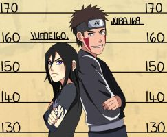 CM: Kiba Yuffie Height Chart by Chloeeh