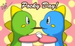 Bubble Dragon Pocky Day 2014 by Coshi-Dragonite