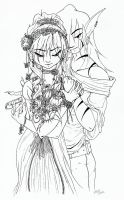 Flowers for the Girl by Queen-Frog