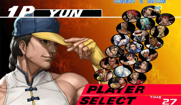 SFIII 3rd Strike Char Select by UStheJUICE