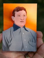 Paper Honus Wagner by FauxHead
