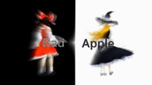 [MMD] Bad Apple DL Edit Motion Ver.2 by HestiaSama