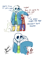 Scared and small part 1 (UNDERTALE) by rafaelathecat1999