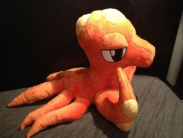Octillery plush for auction by LRK-Creations
