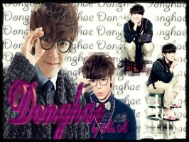 WALL donghae by ale,m by DDLoveEditions