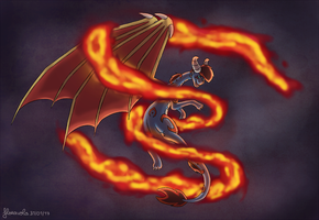 Ring of fire by floravola
