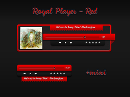 Royal Media Player - Red by AreoX