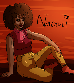 Naomi Sketchy drawing by alston123