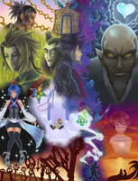 KH: Birth by Sleep by QUINCY-OF-THE-MIST