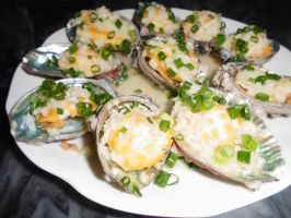 Steamed abalone by CharlieTse