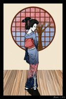 Kiriban - Geisha1 for issues09 by bechedor79