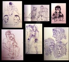 Sketches2 by Ernelle
