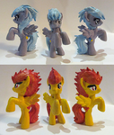 Cloudchaser and Spitfire customs by Noneko
