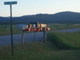 My Montana mailboxes.... by GodessFae