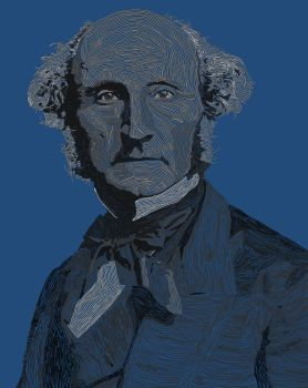 John stuart mill by drewjn