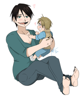 Baby and Daddy by SweetheartedSadist