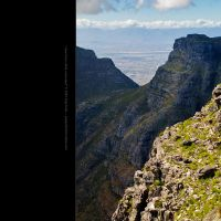 view from table mountain by skiphunt