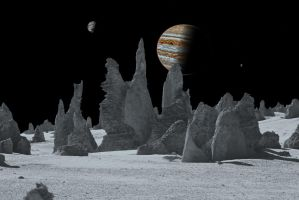 The Spires of Callisto by xwade
