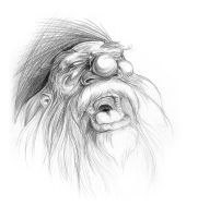 Weekly sketch - Bofur by AndyIomoon