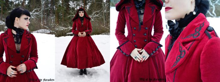 Red Riding Hood Long Coat by Ventovir