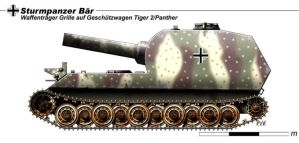 Sturmpanzer Bar by nicksikh