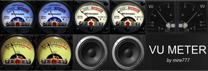 Vu Meter Skin (for foobar2000) by mire777