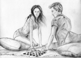 Chess Lesson by LittleSeaSparrow