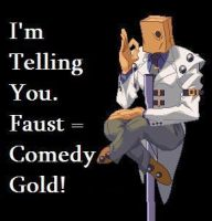 Faust equals Comedy Gold by Yohan-Gas-Mask