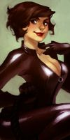 catwoman by loish