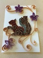 Quilled Squirrel by SpirallingFlames