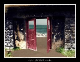 is not to late to open a door by ad-shor