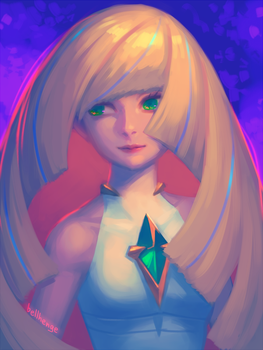Lusamine by bellhenge