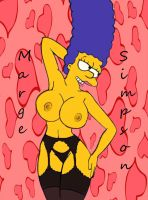 Marge In Black take two by Comon99