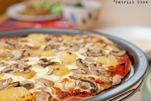 Hawaiian pizza by patchow
