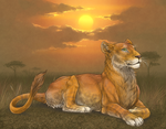 LioDen: Lioness by mrXylax