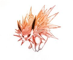 Jolteon by LordReserei