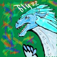 Wings of Fire IceWing (Profile Picture) by Blyzzurd