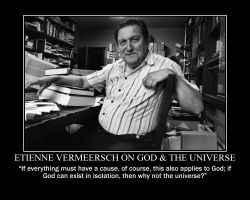 Etienne Vermeersch on God and the Universe by fiskefyren