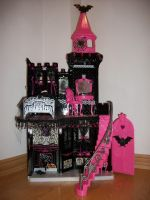 Monster High Houses by SinisterStyleDesigns