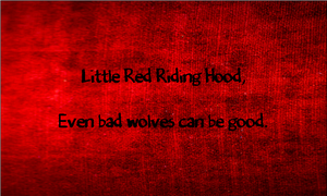 Little Red Riding Hood by AshofaBlackRose