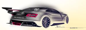 AUDI RENDERING by k-mehdi
